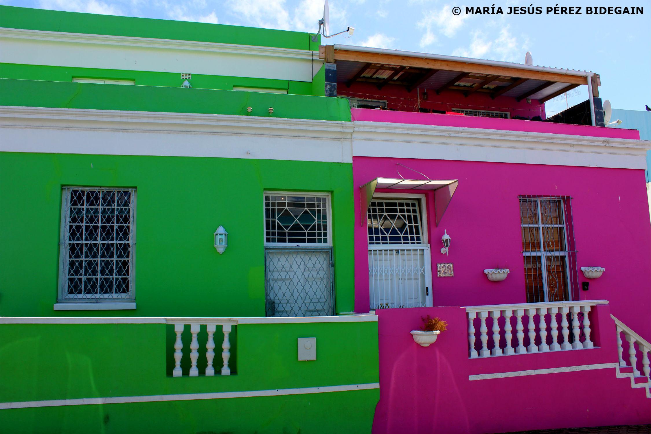 Bo-Kaap en Ciudad del Cabo