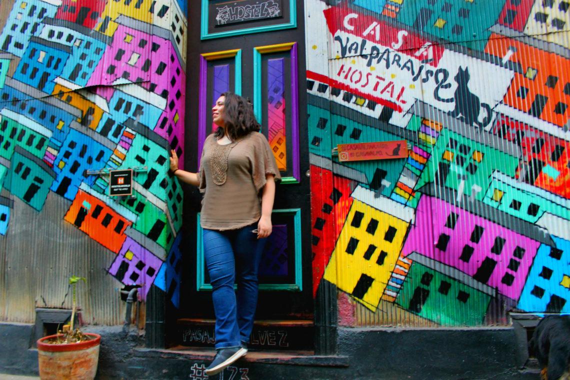 María Jesús Pérez Bidegain de Bichito Viajero en Valparaíso