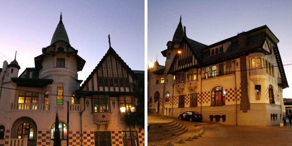 Palacio Baburizza en el cerro Alegre - Bichito Viajero