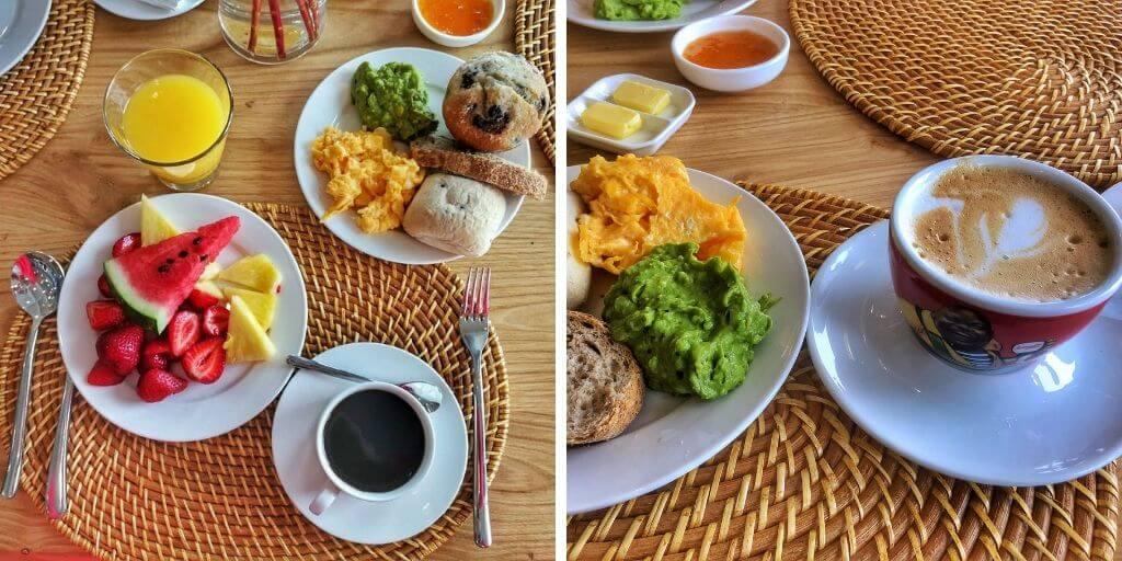Desayuno en Puramar Hotel Boutique - Bichito Viajero