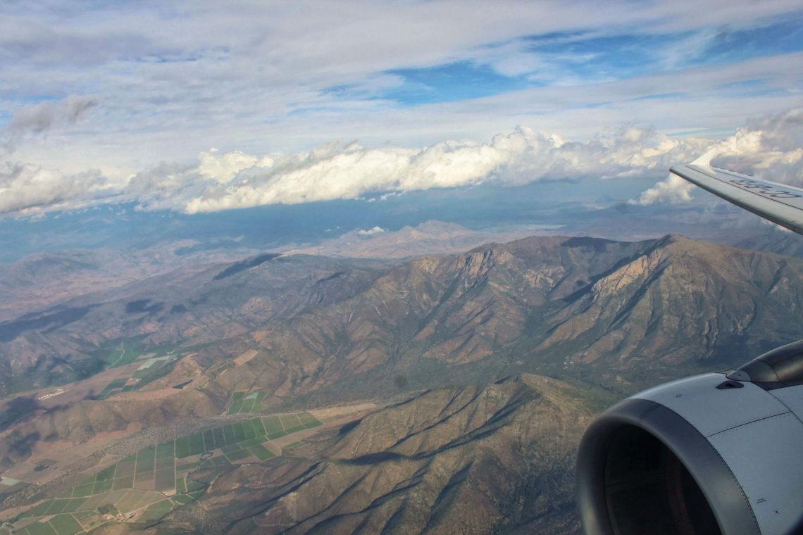 Volando por el cielo - Bichito viajero